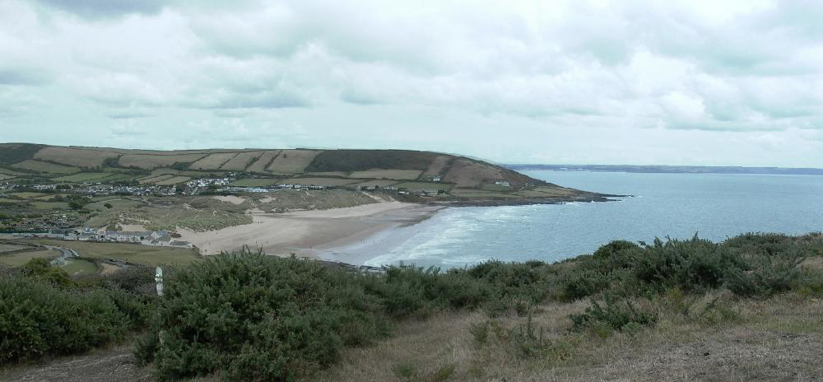Croyde from Baggy Point