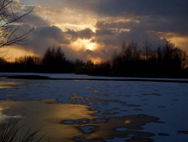 Moody Sky Furzebray Lakes